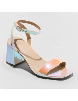 Women's Panya Faux Leather Heeled Pumps   Wild Fable™ by Wild Fable