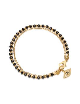Evil Eye Biography Bracelet by Astley Clarke