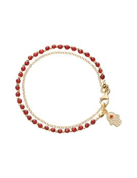 Hamsa Biography Bracelet by Astley Clarke