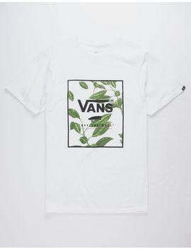 Vans Print Box White Mens T Shirt by Vans