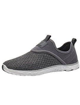 Aleader Men's Slip On Shoes | Water, Comfort Walking, Beach Or Travel Shoe by Aleader