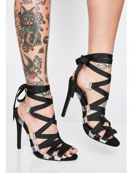 Hawt Honey Strappy Heels by