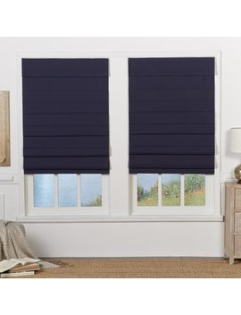 Insulating Cordless Room Darkening Roman Shade by Symple Stuff