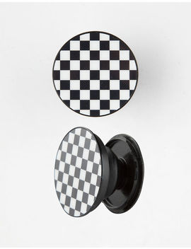 Spinpop Checkered Phone Stand And Grip by Tilly's