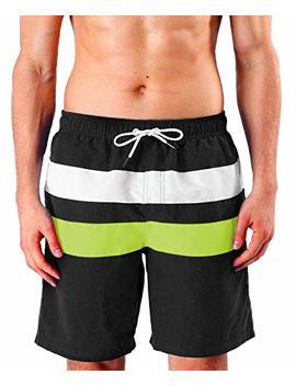 Milankerr Men's Swim Trunks Beach Shorts by Milankerr