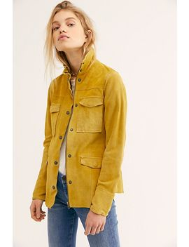 Kimberly Suede Shirt Jacket by Free People