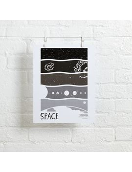 Space Science Wall Art by Crate&Barrel