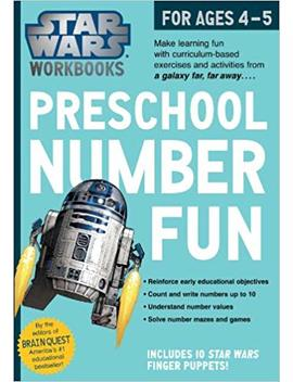 Star Wars Workbook: Preschool Number Fun (Star Wars Workbooks) by Workman Publishing