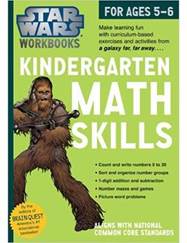 Star Wars Workbook: Kindergarten Math Skills (Star Wars Workbooks) by Workman Publishing
