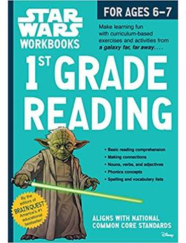 Star Wars Workbook: 1st Grade Reading (Star Wars Workbooks) by Workman Publishing
