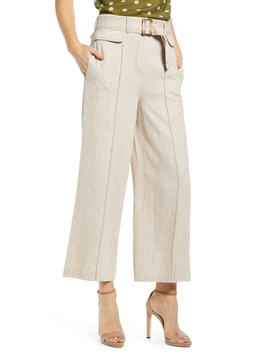 Chriselle Lim Toulouse Wide Leg Crop Trousers by Chriselle Lim Collection