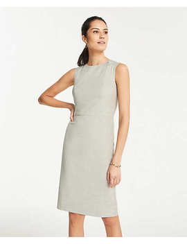 Sheath Dress In Crosshatch by Ann Taylor