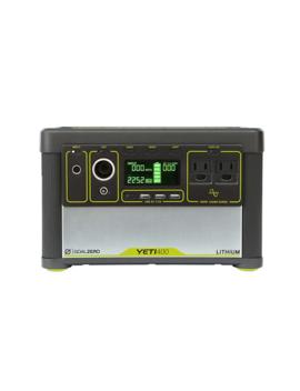 Goal Zero Yeti 400 Lithium Portable Power Station Solar Generator #38000 by Goal Zero