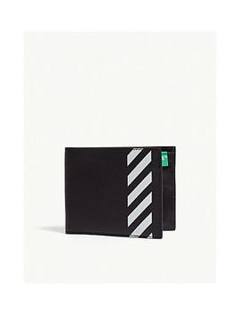 Striped Leather Bi Fold Wallet by Off White C/O Virgil Abloh
