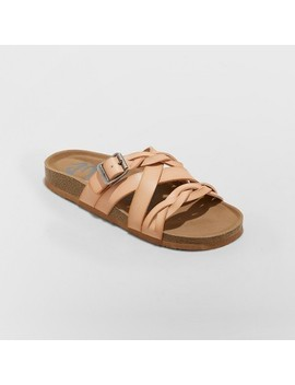 Women's Mad Love Pari Strappy Braid Footbed Sandals by Mad Love