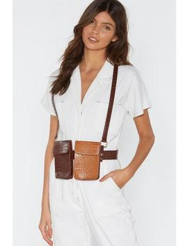 Want We Will Croc You Harness Belt Bag by Nasty Gal