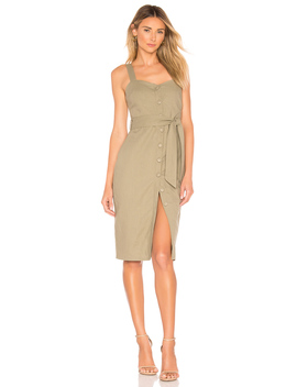 Hailey Button Front Dress by Superdown