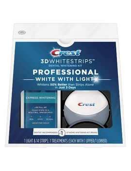 Crest 3 D Whitestrips Professional White With Light Kit   7ct by Target
