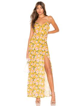 Lorie Slit Maxi Dress by Superdown