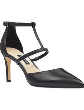 Cintia Ankle Strap Pump by Nine West