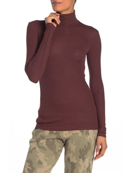 Ribbed Turtleneck Sweater by Atm Anthony Thomas Melillo