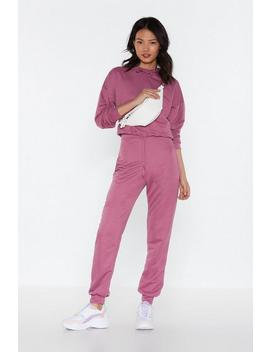 Sweats But Make It Fashion Hoodie And Jogger Set by Nasty Gal