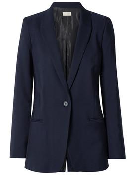 Auberon Wool Blend Blazer by By Malene Birger