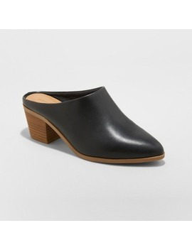 Women's Laia Heeled Mule   Universal Thread™ by Universal Thread
