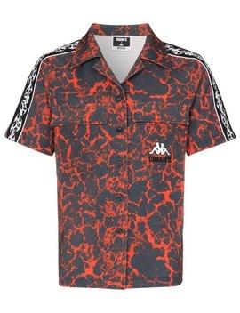 Kortærmet Skjorte Med Lava Tryk by Charm's