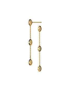 Essentials 18kt Gold Vermeil Beaded Long Earrings by Links Of London