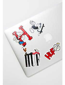 Popeye Sticker Set by Huf