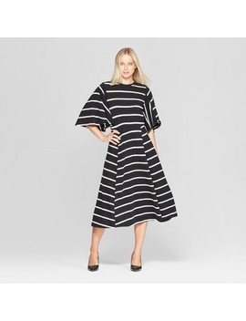 Women's Bell Sleeve A Line Dress   Who What Wear™ by Who What Wear