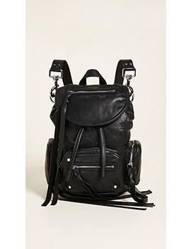 Mini Convertible Drawstring Backpack by Mc Q   Alexander Mc Queen
