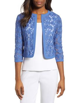 Broderie Lace Cardigan by Anne Klein