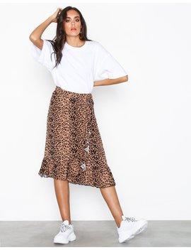 Vmleo N/W Wrap Skirt Exp by Vero Moda