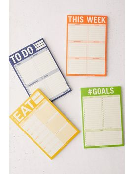 Productivity Notepad by Urban Outfitters