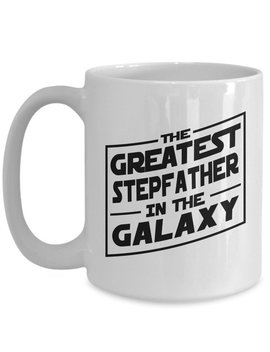 Greatest Stepfather Mug Coffee Cup Gift Idea Dad Love Relationship by Etsy