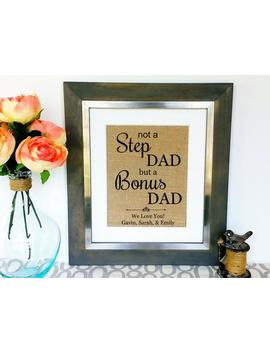 Step Dad Father's Day Gift Stepdad Fathers Day Gifts Stepfather Father Daddy Unique Gift Idea Ideas Birthday Gift For Him From Son Daughter by Etsy
