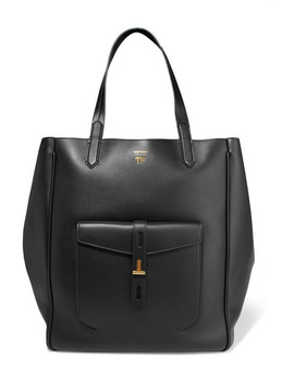 Hollywood Large Leather Tote by Tom Ford