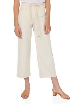 Wide Leg Crop Pants by Habitual