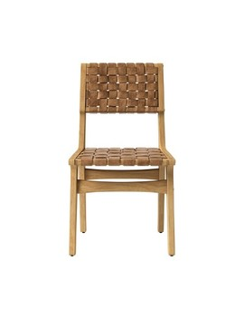 Ceylon Woven And Wood Dining Chair Brown And Natural   Opalhouse™ by Opalhouse