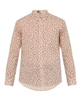 Ilako Foliage Print Cotton Shirt by Isabel Marant