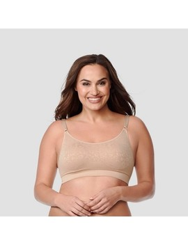 Simply Perfect By Warner's Women's Full Figure Seamless Wirefree Comfort Band Contour Bra by Simply Perfect By Warner's