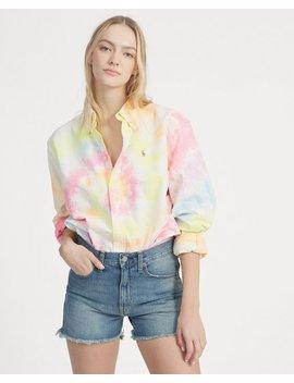 Big Fit Tie Dye Shirt by Ralph Lauren