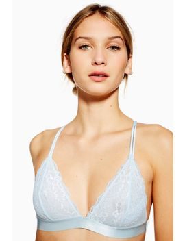 Lace Pull On Triangle Bra by Topshop