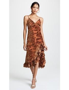 Elvira Slip Dress by Caroline Constas