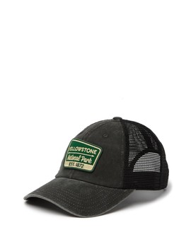 Yellowstone National Park Raglan Baseball Cap by American Needle