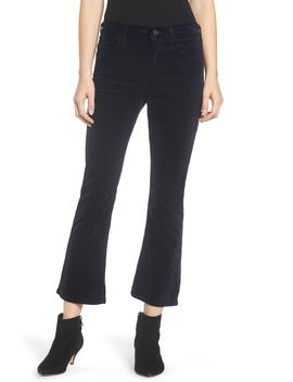 Drew High Waist Crop Flare Jeans (Midnight) by Citizens Of Humanity