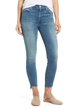 The Stunner High Rise Ankle Fray Jeans (Good Girls Do) by Mother
