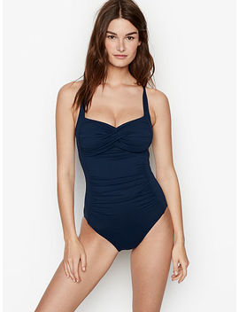 Twist Halter One Piece by Victoria's Secret